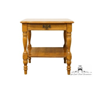 """Ethan Allen Heirloom Nutmeg Maple 23"""" Square End Table Preview"""