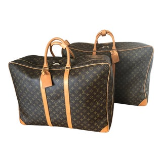 French Louis Vuitton Luggage - 2 Pieces For Sale