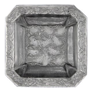 Lalique France Crystal Soap or Ring Dish For Sale