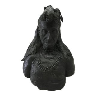Early American Bronze Sculpture For Sale