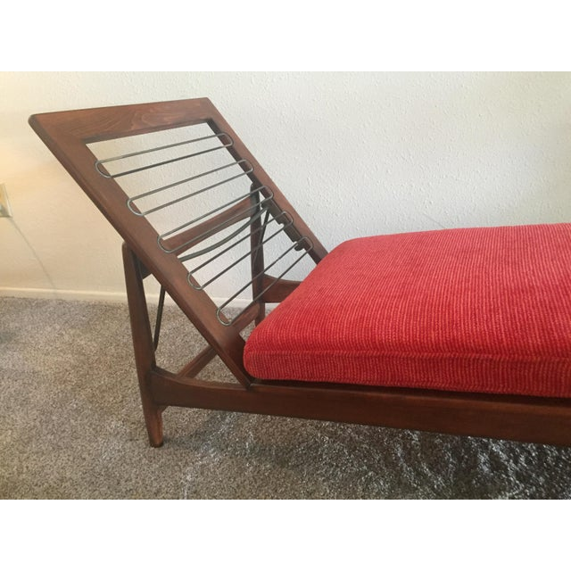 1960s Danish Modern Selig Adjustable Lounge Chair For Sale In Los Angeles - Image 6 of 13