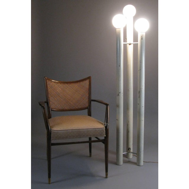 Art Deco 1970s Skyscraper Tower Floor Lamp by Tony Paul For Sale - Image 3 of 8