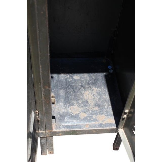 Vintage Metal Lockers For Sale - Image 5 of 10