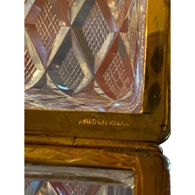 Baccarat Antique Baccarat Crystal Box For Sale - Image 4 of 8