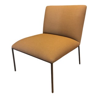 Modern Tondo Slipper Chair by Fogia For Sale