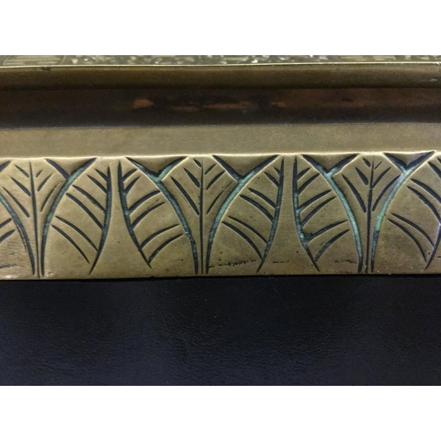Late 19th Century Antique Art Deco Desk Set For Sale - Image 5 of 8