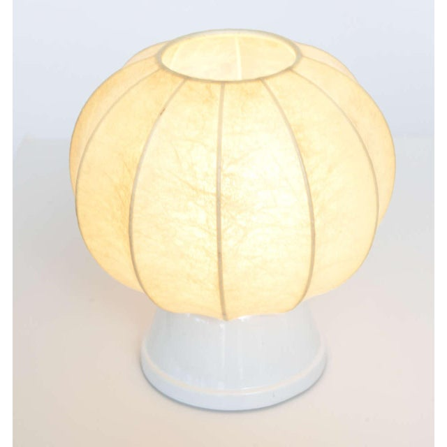 1960s Pair of 60's German Table Lamps in the Manner of George Nelson For Sale - Image 5 of 10