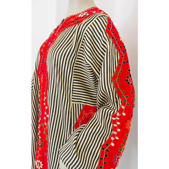 Vintage Middle Eastern Ethnic Caftan, Kaftan Maxi Dress For Sale - Image 12 of 13