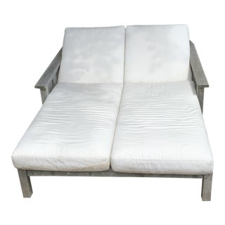 Barlow Tyrie Double Chaise For Sale