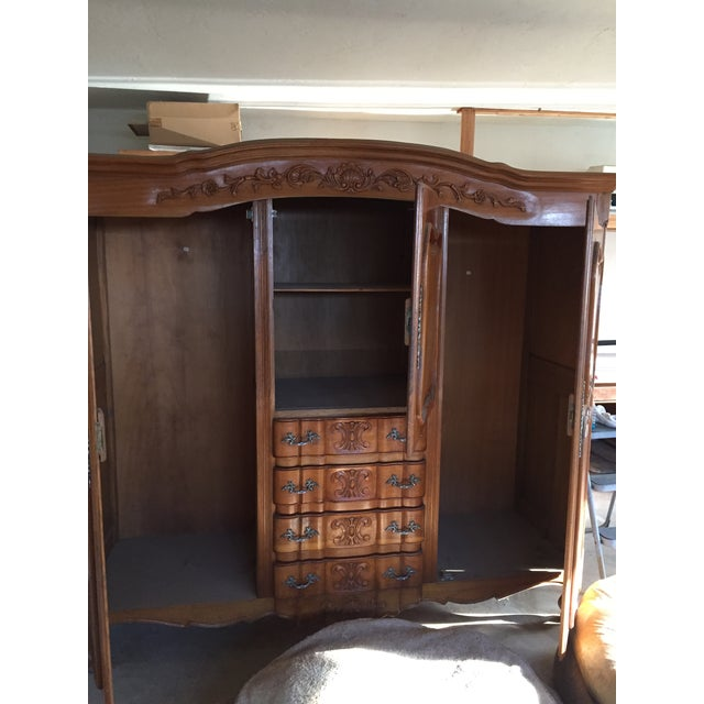 Antique French Wardrobe - Image 3 of 4