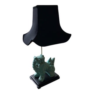Modern Foo Dog Table Lamp For Sale