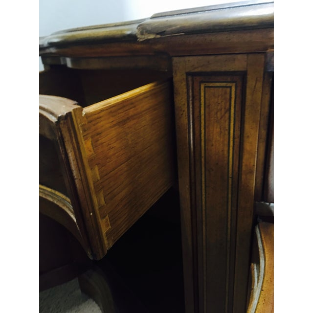 Vintage Traditional Wood Crendenza - Image 7 of 8