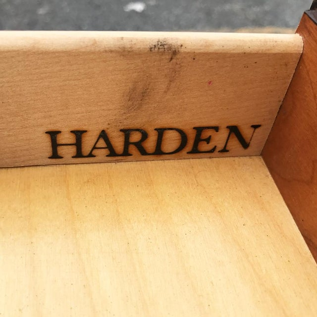 Vintage Harden Queen Anne Cherry Buffet Server For Sale - Image 5 of 5