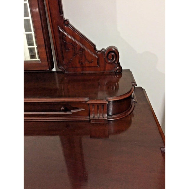 19th Century Victorian Mahogany Duchess Dressing Table For Sale - Image 4 of 12