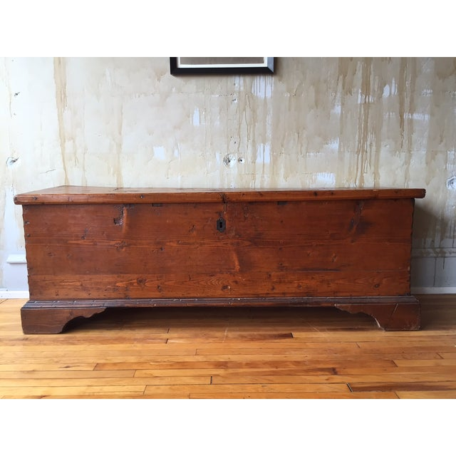 Tuscan Antique Trunk - Image 2 of 8