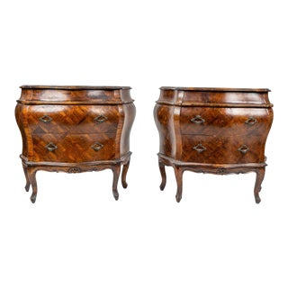 Venetian Rococo Style Commodes Chests - a Pair For Sale