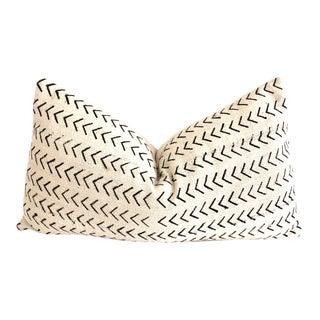 Mali Mudcloth Chevron Pillow For Sale
