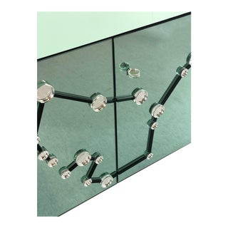 Effetto Vetro Zodiac Sideboard in Crystal Glass For Sale