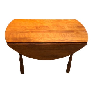 Vintage Duxbury Drop Leaf Table For Sale