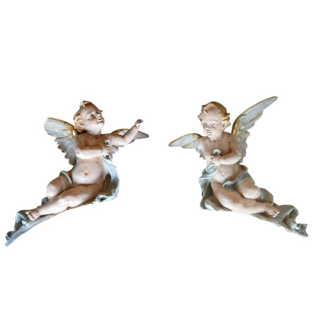 Pair of American Putti - Image 1 of 6