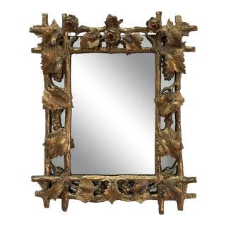 Antique Carved Italian Mirror