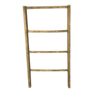 Rustic Country Decorative Ladder For Sale