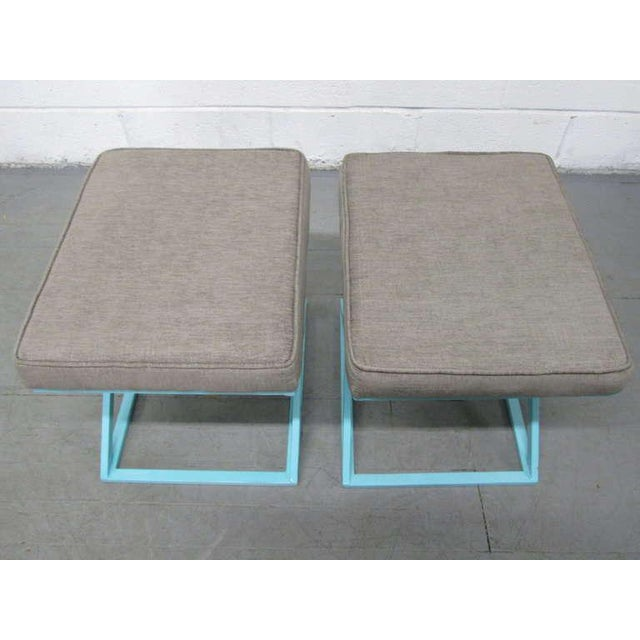 Pair of X-Benches For Sale In New York - Image 6 of 7