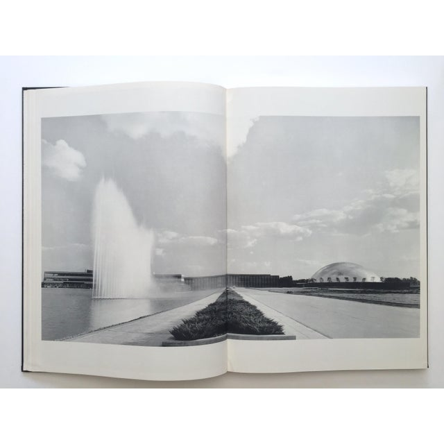 "1960s "" Eero Saarinen on His Work "" Rare Vtg 1968 Collector's Slipcase Large Hardcover Mid Century Modernism Architecture Book For Sale - Image 5 of 13"
