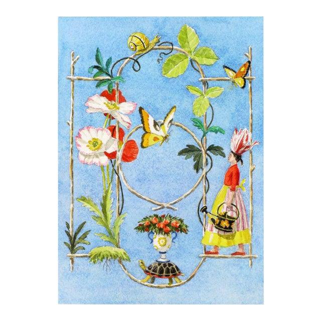 """Rustic Garden Fantasy"" Giclée Print - Image 1 of 3"