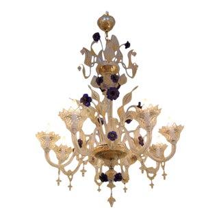 Andromeda - Fleur DI Lis Venetian Chandelier For Sale