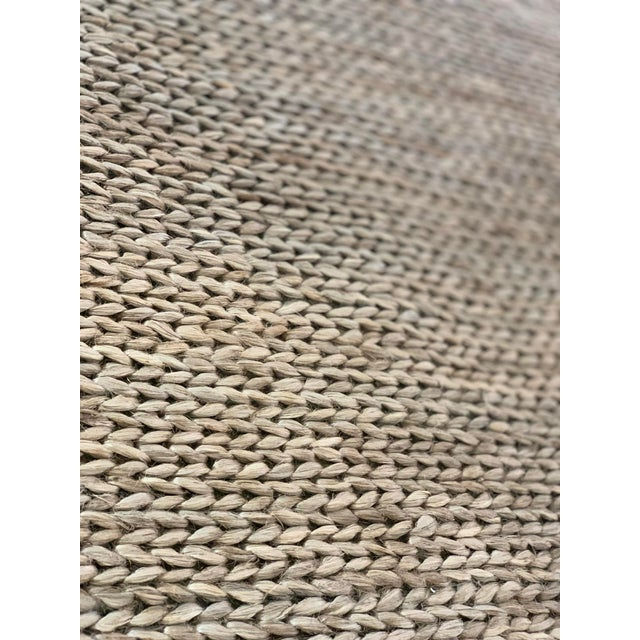 Hand Woven Jute Rug-5' X 8' For Sale In Atlanta - Image 6 of 10