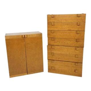 1960s Mid-Century Modern Dresser Set - 5 Pieces For Sale