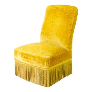 Single Napoleon III Slipper Chair