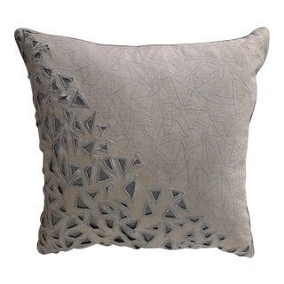 Modern Linen Throw Pillow by Celerie