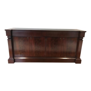 Baker Thomas Pheasant Scroll Cabinet Buffet For Sale