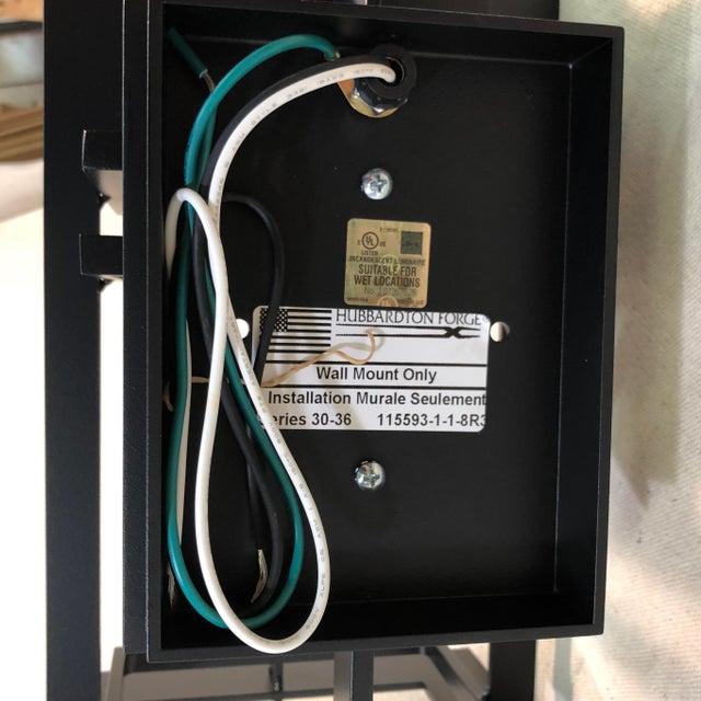 Hubbardton Forge Tourou Outdoor Wall Light Lantern For Sale - Image 9 of 10