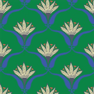 Mitchell Black Home Wallflower Jade Peel & Stick Wallpaper For Sale