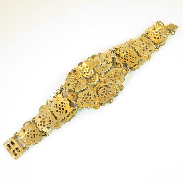 Victorian Austro-Hungarian Bejeweled Crystal Parure 1870s For Sale - Image 11 of 13