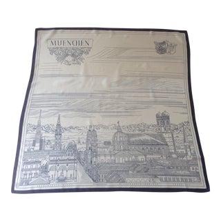 Munich Souvenir Silk Scarf