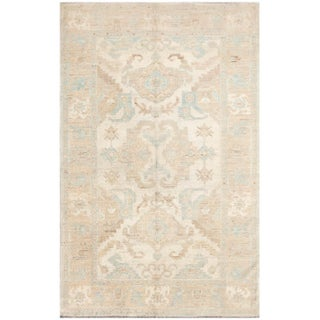 Hand-Knotted Khotan Rug - 6' x 9'