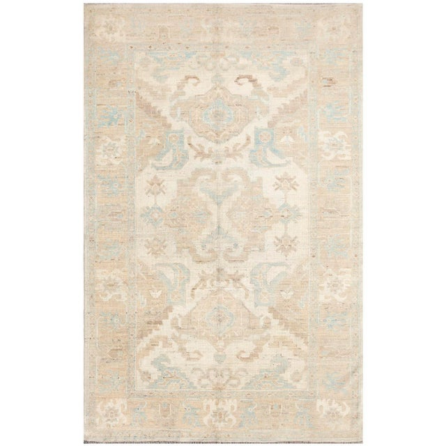 Hand-Knotted Khotan Rug - 6' x 9' For Sale