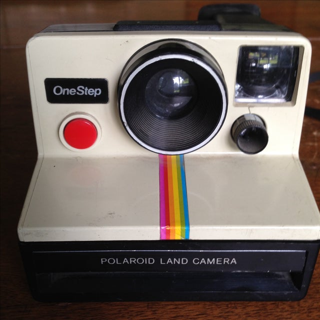 Vintage Polaroid One Step Land Camera For Sale - Image 11 of 11