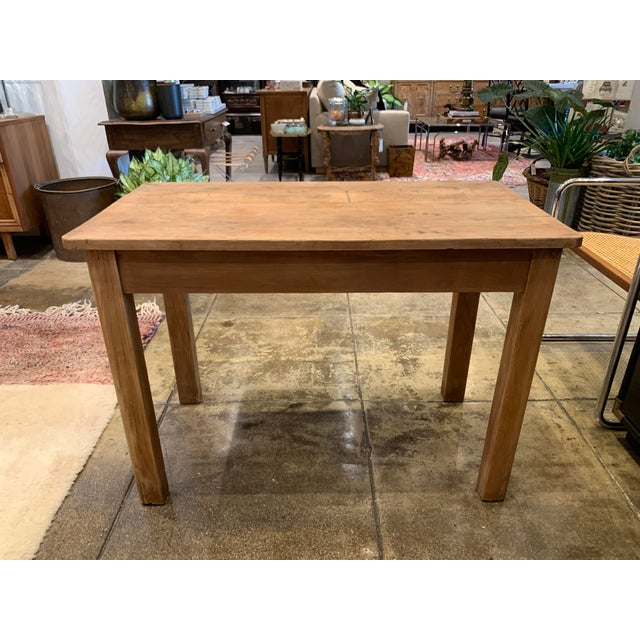 Early 20th Century Antique French Farm Table For Sale - Image 5 of 12
