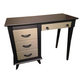 Two Tone Writing Desk For Sale