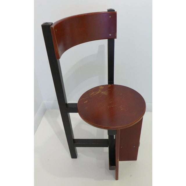 """Huizenga Group Constructivist """"Bastille"""" Chair by Piet Blom For Sale - Image 4 of 9"""