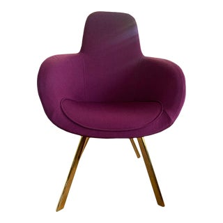 Tom Dixon Purple Chair For Sale
