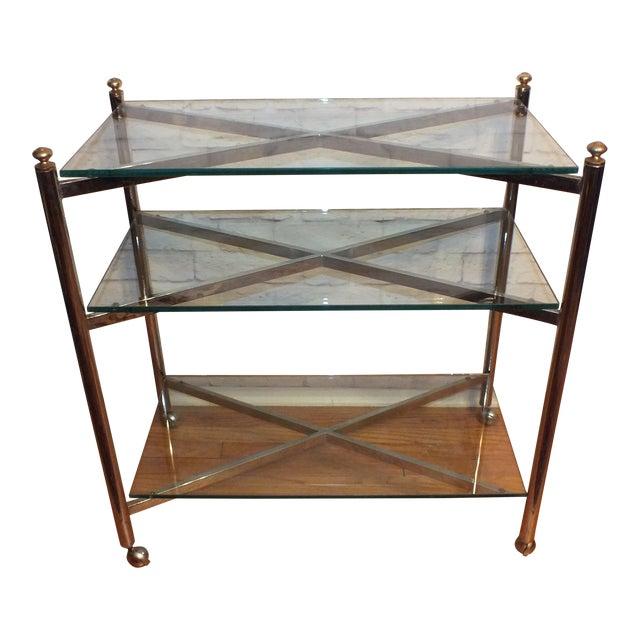 Maison Jansen Style Directoire 3 Tier Serving Cart - Image 1 of 6