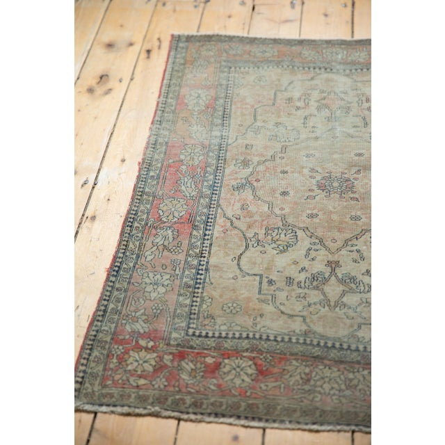 "Late 19th Century Antique Kerman Square Rug - 2'11"" X 4' For Sale - Image 5 of 13"