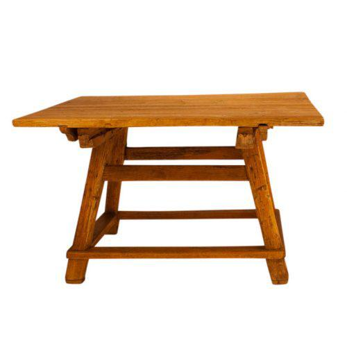 Rustic Circa 1840 Swiss Rustic Table For Sale - Image 3 of 5