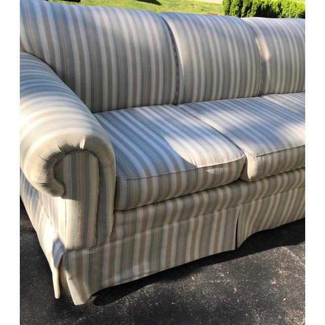 Fantastic Century Furniture Striped Sofa Andrewgaddart Wooden Chair Designs For Living Room Andrewgaddartcom